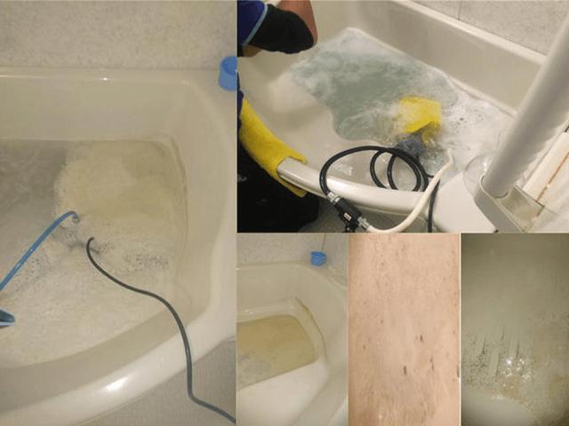 追い炊き配管洗浄