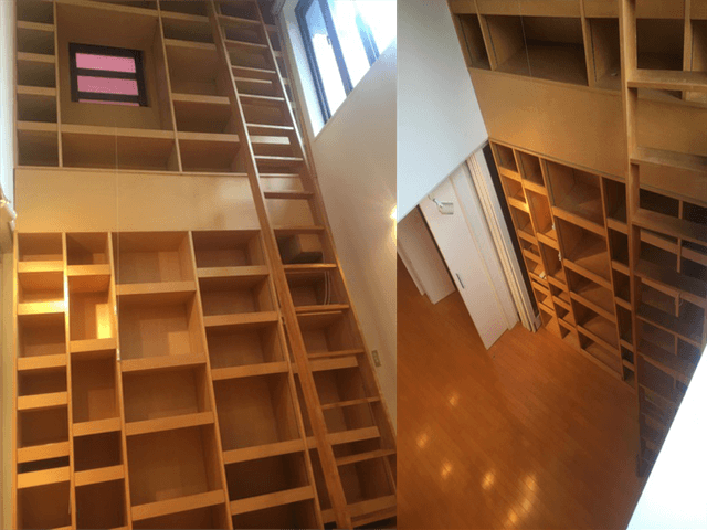 東京都ハウスクリーニング本棚