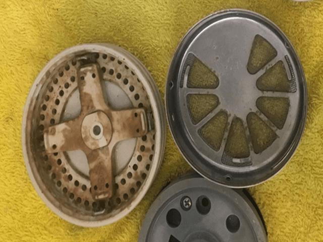 循環金具フィルター