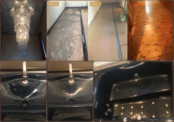 お風呂・床・ベランダ・トイレ・照明Before&After