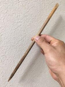天然お掃除用品竹串