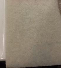 洗浄磨き白パッド
